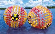 Аквасфера в Казани,  прогулочный водный шар (аквазорб)
