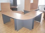 НЕДОРОГО Офисная мебель столы от1050р, шкафы=1400, тумбы=1250 все новое