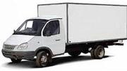 Грузоперевозки ГАЗЕЛЬ  4м 2.5т  изотермический фургон