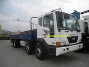 Бортовой грузовик 8Х4. Daewoo novus m9csf. dv11