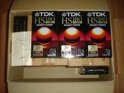 Продам видеокасеты TDK (новые,  чистые)