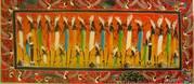 Продаю картины в стиле этно (Азия,  Африка), холст,  масло