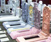 Памятники (надгробие) Любые архитектурные формы