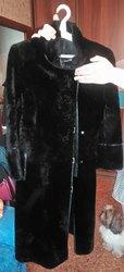 Стильное меховое пальто