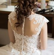 Свадебное платье от итальянского бренда