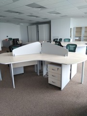 Офисная мебель б/у комплектом