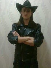 Куртка мужская черная (косуха)